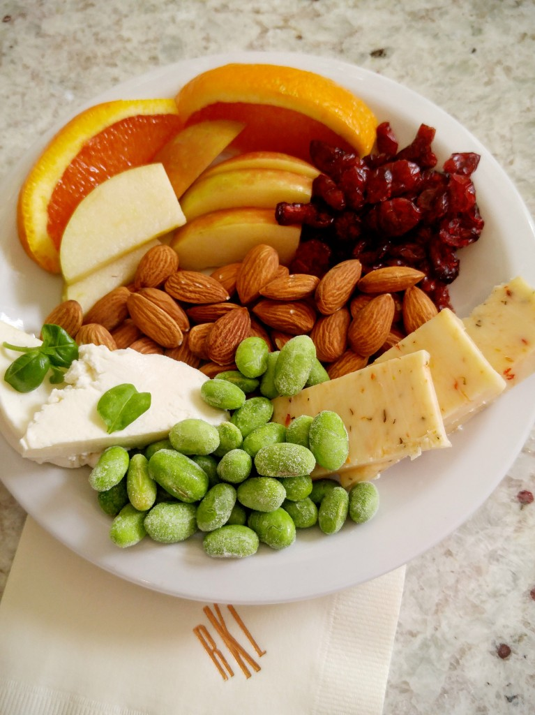 Individual Cheese Fruit And Nut Boards